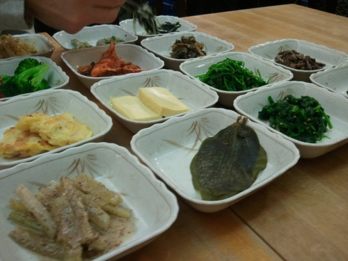 Banchan at Soban